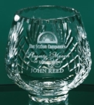 5 Lead Crystal Footed Rose BowlThis footed Crystal Rose Bowl Vase allows for liberal etching area. Gift Boxed. Call 800-830-3386 to buy now!