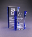 Blue/Clear Optic Crystal Eclipse