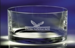 5 1/2Diameter Lead Free Crystal Manhattan BowlYour organizations logo or message can be etched on this bowl to be used as an employee or customer gift. New item!Call 800-830-3386 for complete details!