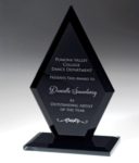 8.5 Black Glass Arrowhead Award